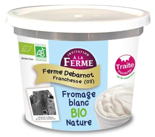 Fromage Blanc Bio Nature 5 kg