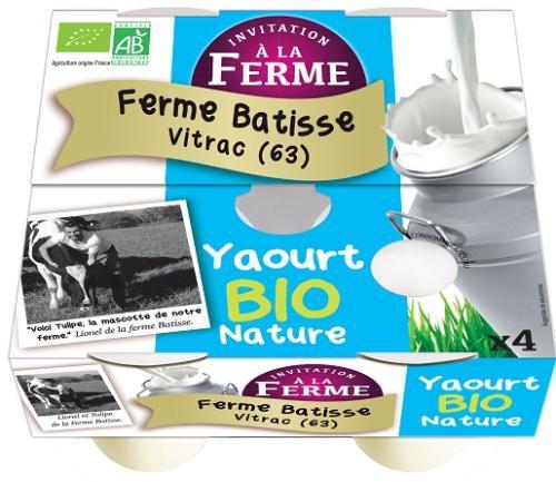 Yaourt Bio brassé Nature 2kg