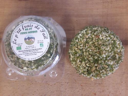 P'tit frais de Pail - ail et fines herbes - Ferme fromagère du Pays de Pail