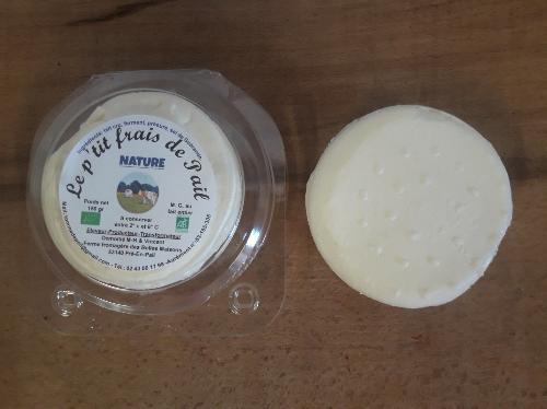 P'tit frais de Pail - nature - Ferme fromagère du Pays de Pail