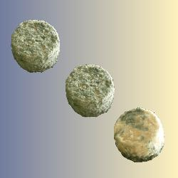Affiné : Lot de 3 crottins (nature ou cendré)