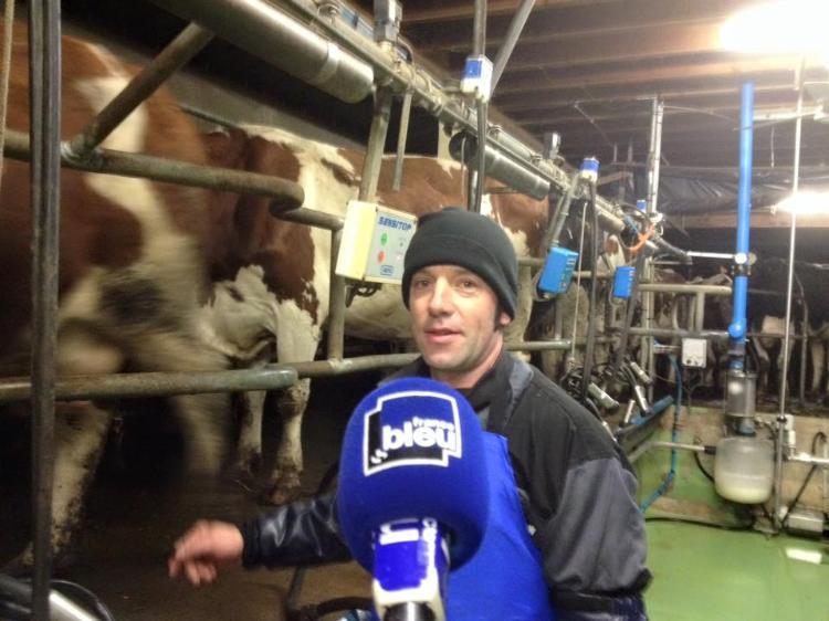 La ferme Peard en direct de France Bleu