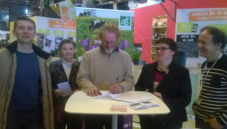 le salon de l'agriculture avec Elisabeth Mercier et Stéphanie Pageot