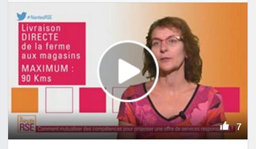 Corinne sur la minute RSE de TV Nantes