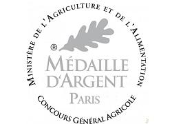 Médaille d'argent au salon de l'agriculture - février 2018