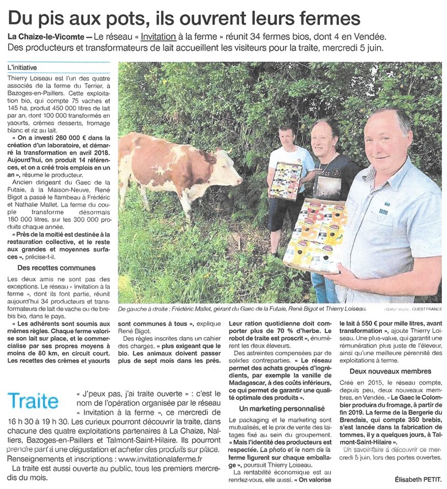 Ouest France - 04/06/19