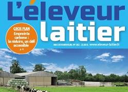 Pascal Massol, fondateur de l'Appli dans l'éleveur laitier - 26/09/2019