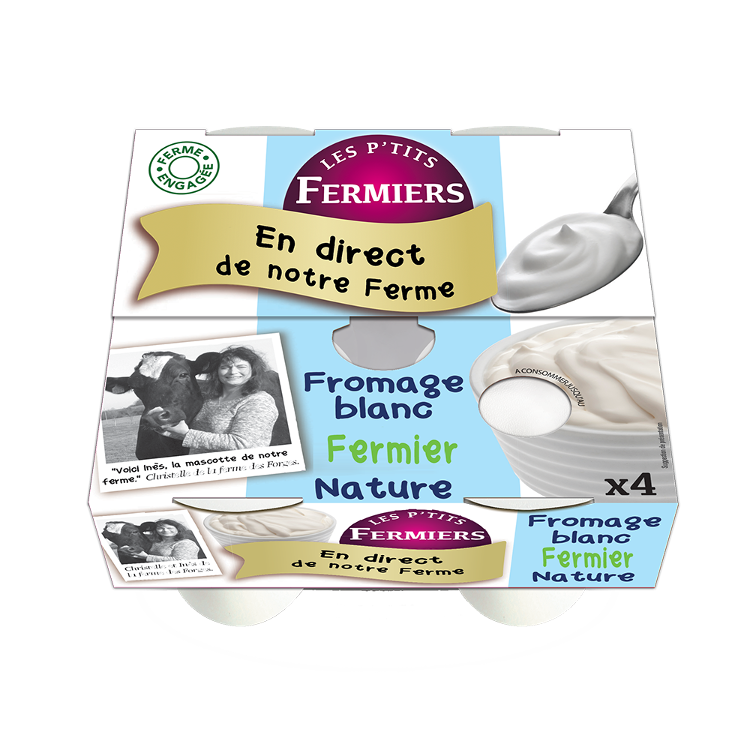 Fromage blanc fermier Nature