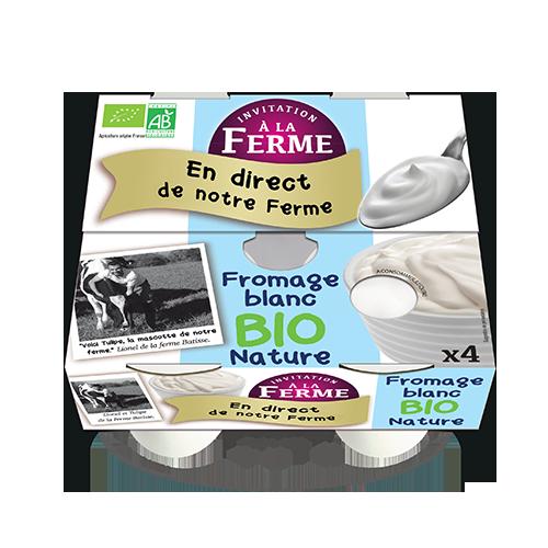 Fromage blanc Bio Nature 4x100g