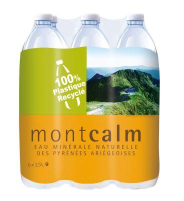 Pack Eau minérale naturelle des Pyrénées Montcalm 6x1,5L