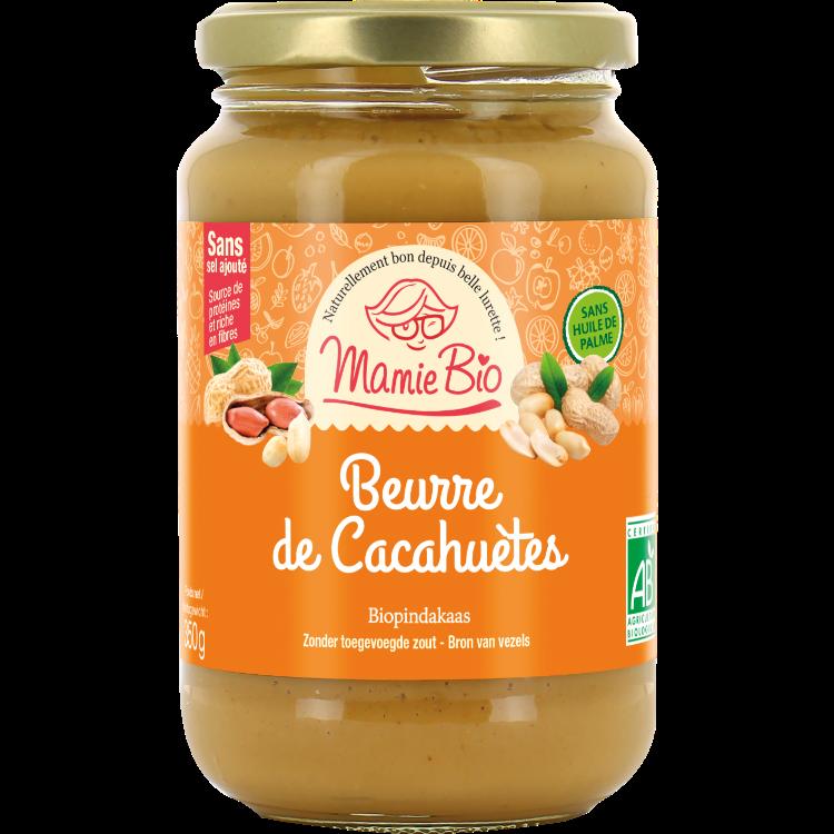 Beurre de Cacahuètes Mamie Bio  350g