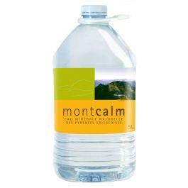 Eau minérale naturelle des Pyrénées Montcalm 5L