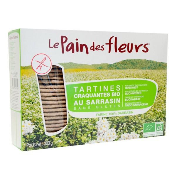 Tartines craquantes au sarrasin Le pain des fleurs 300g