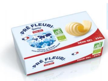 Beurre Doux 250g Pré Fleuri