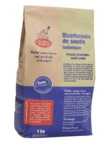 Bicarbonate de soude Ménager 1kg La Droguerie Ecologique