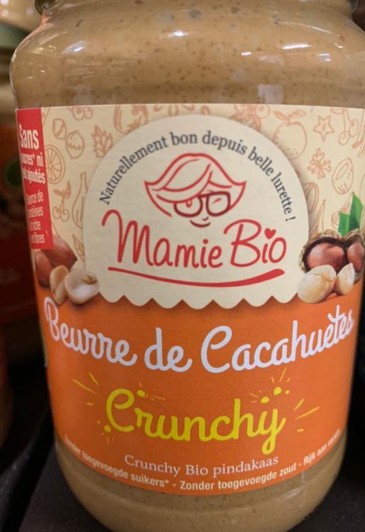 Beurre de Cacahuètes crunchy Mamie Bio 350g