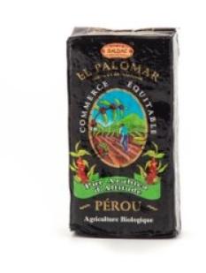 Café El Palomar Pur Arabica d'altitude Pérou Commerce Equitable Saldac 250g