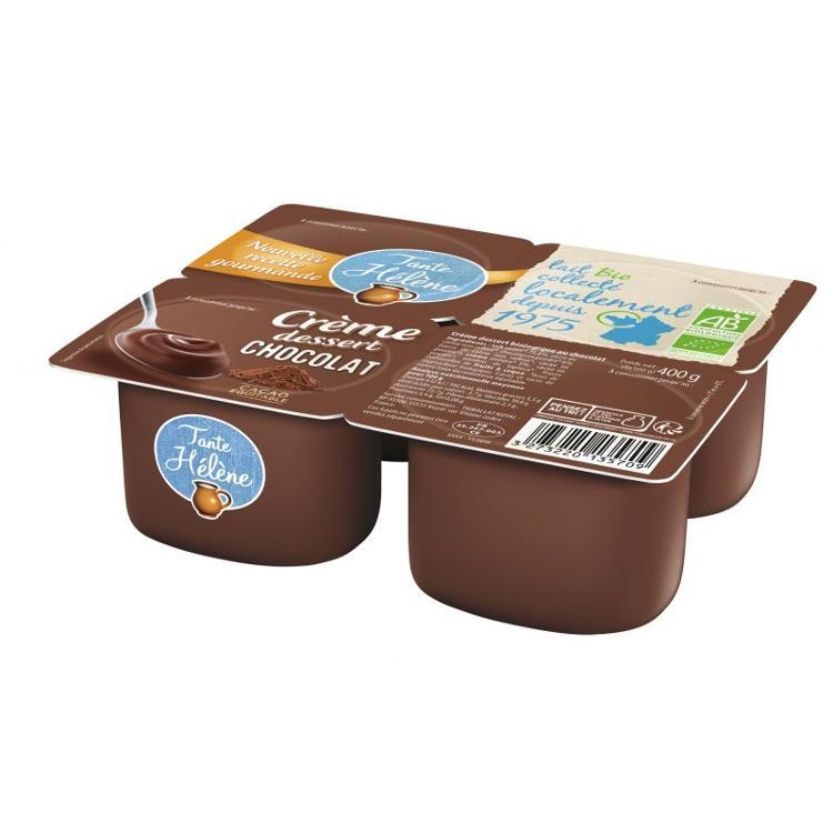 Crème dessert chocolat Tante Hélène 4x100g