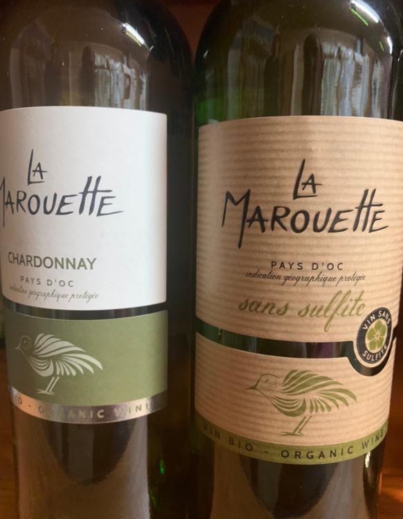 Vin blanc La Marouette Chardonnay (Pays d'Oc) 13%Vol 75cl