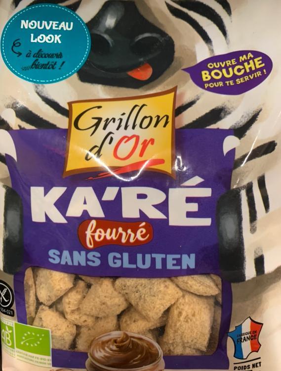 Ka'Ré fourré sans gluten Grillon d'Or 375g