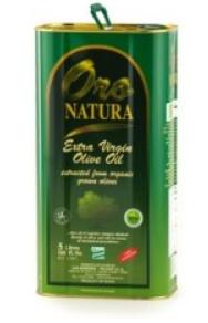 Huile d'Olives Vierge 5L Oro Natura (boîte métal)