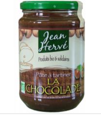 Pâte à Tartiner La Chocolade Jean Hervé 750g (sans gluten sans huile de palme)