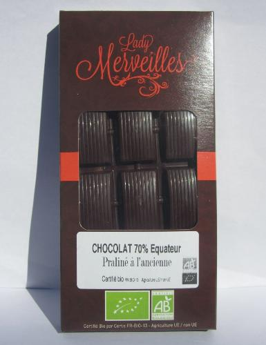 Chocolat Noir 70% 70g