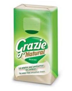 Mouchoirs Etuis * 10 Grazzie Natural