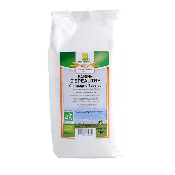Farine d'épautre blanche T70 1kg