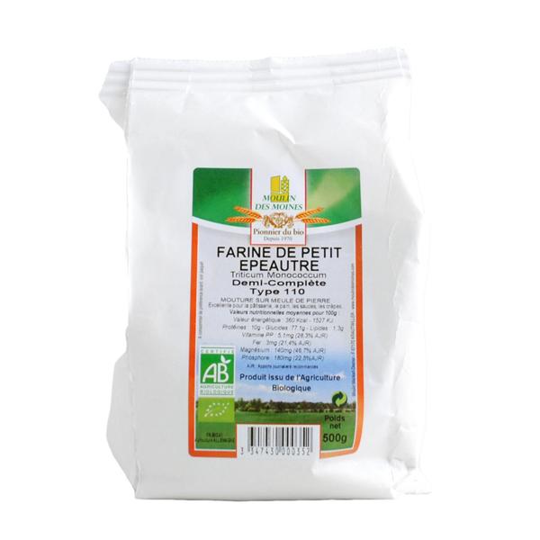 Farine de petit épautre blanche T70 1kg