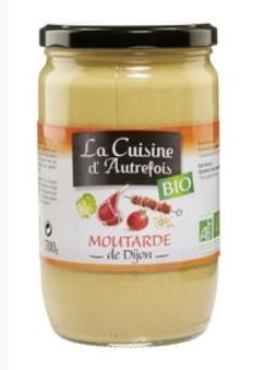 Moutarde de Dijon La cuisine d'autrefois  700g