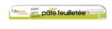 Pâte Feuilletée sans beurre BioBleud 250g
