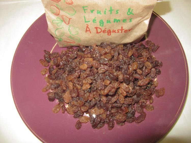 Raisins secs Vrac Turquie
