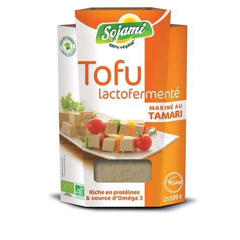 Tofu lactofermenté tamari Sojami 2x 100g