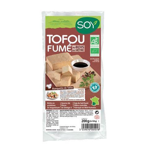 Tofu fumé Soy 2 x 100g