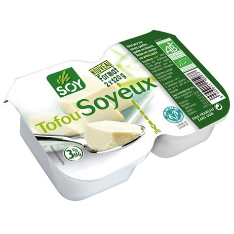 Tofu soyeux Soy 2x 120g