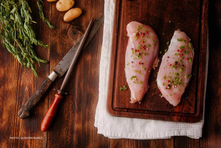 Filets de poulet bio (par deux - environ 350 g)