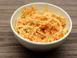 CRUDITÉ COLESLAW carottes râpées et chou blanc râpé barquette 250 grammes