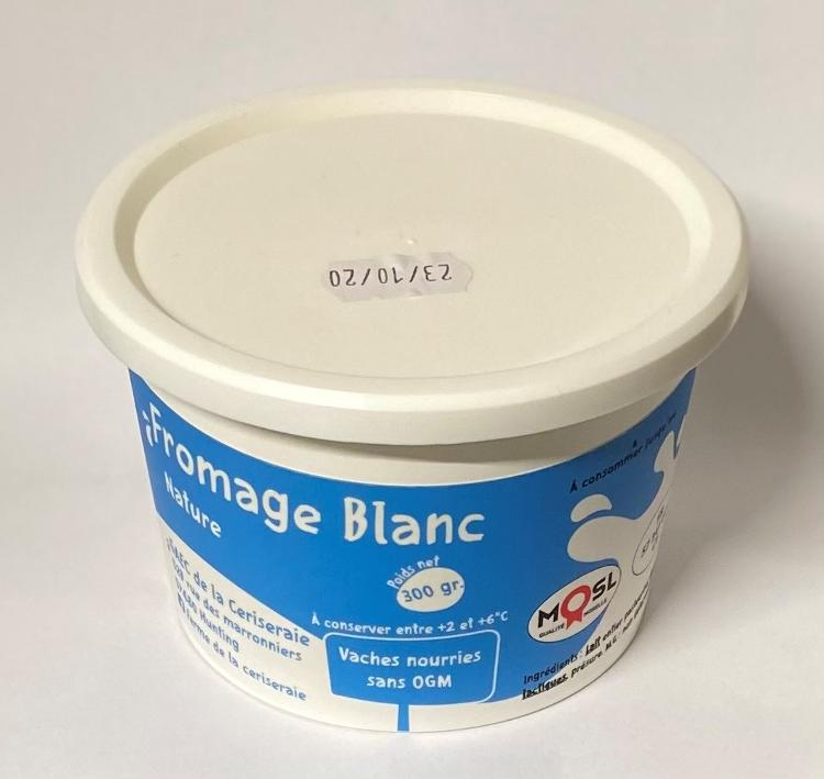 Fromage Blanc Nature 300 gr