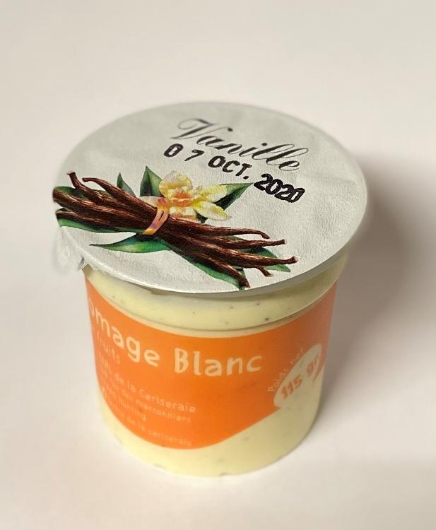 Fromage Blanc Vanille 4x115gr