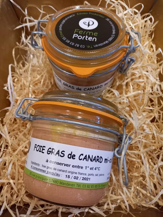 Foie Gras de canard 180g ( envi. 4/5 pers. )