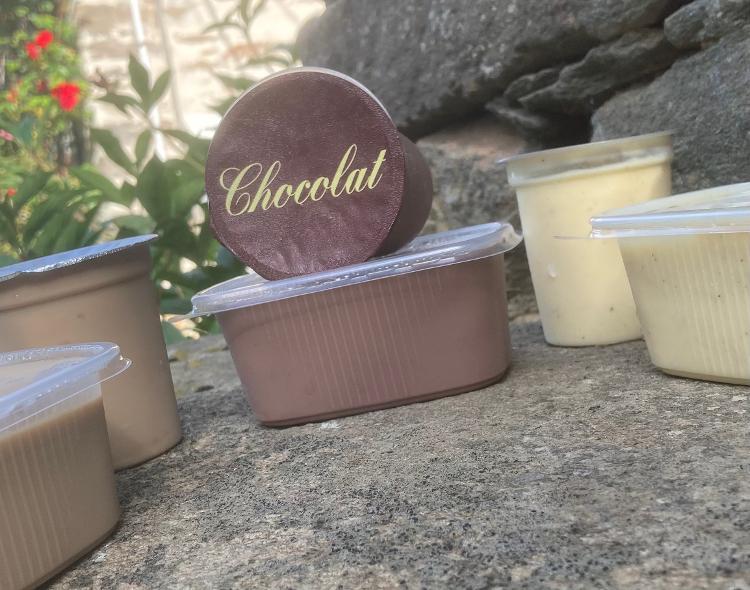 Crème dessert au chocolat x4