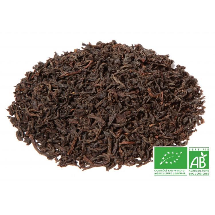 Thé noir Assam BIO -Rembeng - TGFOP- Second Flush pochette de 100g vrac