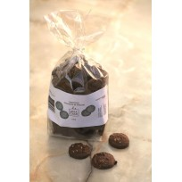 Biscuits au miel, chocolat, amendes sachet de 200 grammes