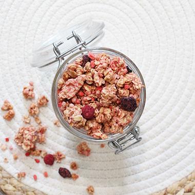 Croustillant fruits rouges Bio 1 Kg