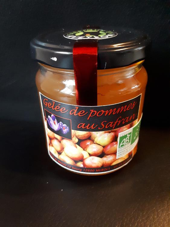 Gelée de pommes au safran bio 200g