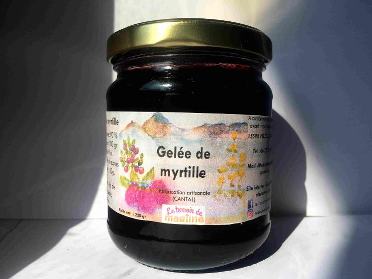 Gelée de Myrtille 220 g