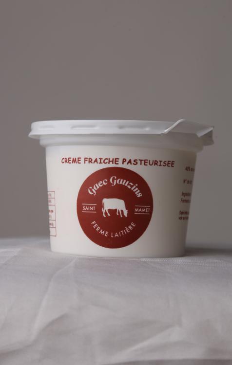 Crème fraiche pasteurisé 20 cl - DLC 28 JOURS - le pot