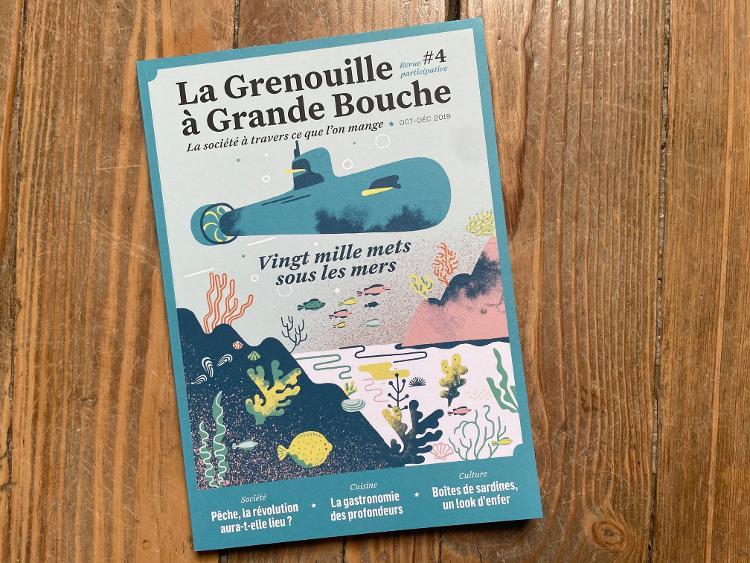 Revue La Grenouille à Grande Bouche #4