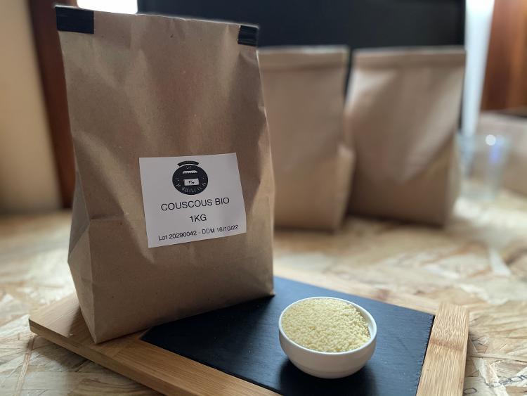 Couscous Blanc Bio qualité supérieure IT 1 Kg